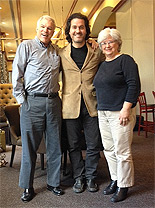 Marc Violette and Margaret Lanoue w/ Zuill Bailey